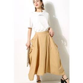 【AZUL BY MOUSSY】立体ポケットミディスカート BEG