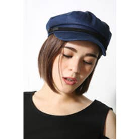 【AZUL by moussy】ロープ付マリンCAP NVY