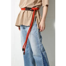 【AZUL BY MOUSSY】ropeサッシュベルト ORG