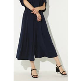 【AZUL BY MOUSSY】トロミカットジョーゼットギャザースカーチョ NVY