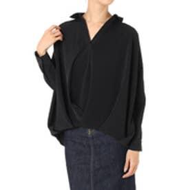 【AZUL BY MOUSSY】フロントタックスキッパーシャツ