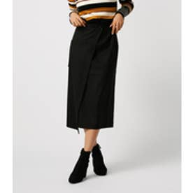 【AZUL BY MOUSSY】ポケットWラップスカート【MOOK44掲載 99024】 BLK