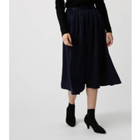 《WEB限定価格》【AZUL BY MOUSSY】ベロアサテンスカート NVY