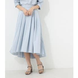 【AZUL BY MOUSSY】タック入りギャザースカート L/BLU
