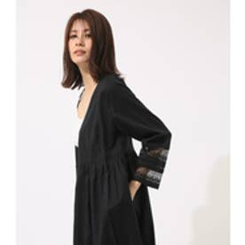 【AZUL BY MOUSSY】カシュクール2WAYガウン BLK