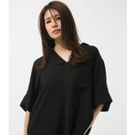 【AZUL BY MOUSSY】ルーズスキッパーシャツ BLK