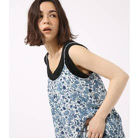 【AZUL BY MOUSSY】ペイズリープリントシフォンキャミ 柄WHT