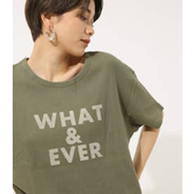 【AZUL BY MOUSSY】WHAT&EVER TEE KHA