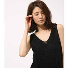 【AZUL BY MOUSSY】エスニックレースチュニック BLK