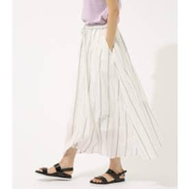 【AZUL BY MOUSSY】カラフルストライプロングスカート