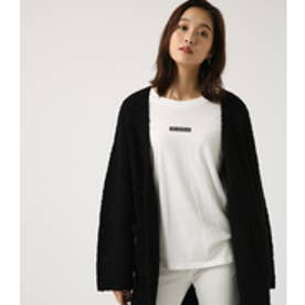 【AZUL BY MOUSSY】ブークレロングカーデ BLK