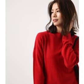 《10月17日まで期間限定価格》【AZUL BY MOUSSY】ハイネックルーズプルオーバー RED