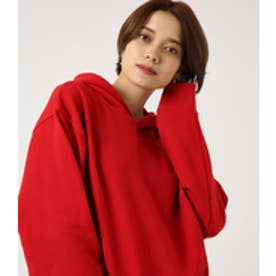 【AZUL BY MOUSSY】ビッグフーディパーカー RED