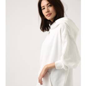 【AZUL BY MOUSSY】ビッグフーディパーカー O/WHT