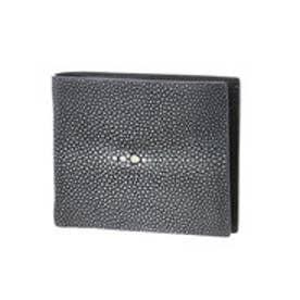 ジュエリッツ Jewelits ガルーシャ革二つ折り財布 (ブラック)