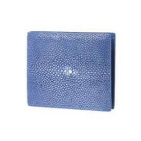 ジュエリッツ Jewelits ガルーシャ革二つ折り財布 (ブルー)