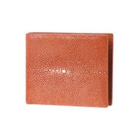 ジュエリッツ Jewelits ガルーシャ革二つ折り財布 (ブラウン)