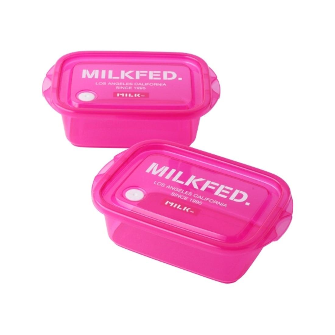ロコンド 靴とファッションの通販サイト【LIFE STYLE】MILKFED. PLASTIC CONTAINER (ピンク)