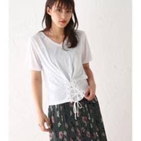 【ロコンド期間限定価格】アヴァンリリィ Avan Lily コルセットデザインT/S (WHT)