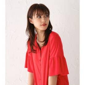 【ロコンド期間限定価格】アヴァンリリィ Avan Lily ツイストベア釦開きフレアスリーブ (RED)