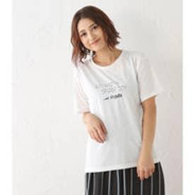 【ロコンド期間限定価格】アヴァンリリィ Avan Lily SPARKJOYロゴT/S (O/WHT)