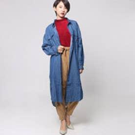 【ロコンド期間限定価格】アヴァンリリィ Avan Lily ミリタリーSH羽織 (BLU)