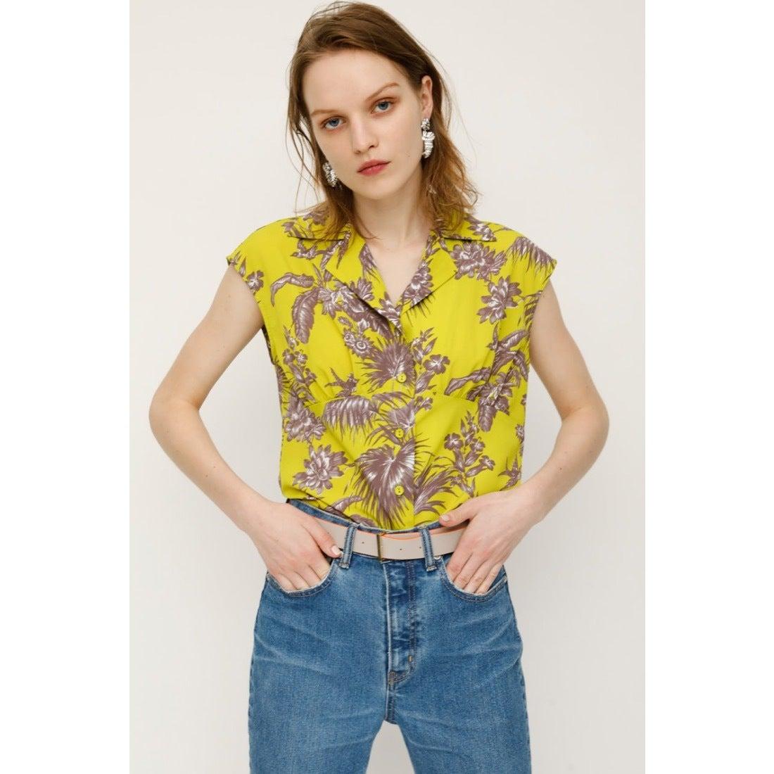 073adfffb441d スライ SLY EXOTIC PLANTS SH TOPS (M/イエロー) -レディースファッション通販 ロコンドガールズコレクション  (LOCONDO GIRL'S COLLECTION)