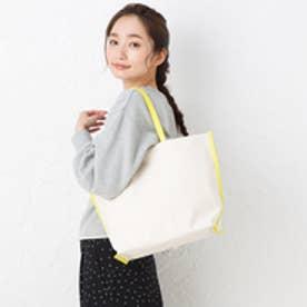 ヒッチハイクマーケット HITCH HIKE MARKET stitch line tote bag (イエロー)