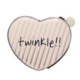 ヒッチハイクマーケット HITCH HIKE MARKET twinkle ハート型コインケース (アイボリー)