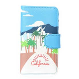 ヒッチハイクマーケット HITCH HIKE MARKET Westcoast-iphonecase (ブルー)