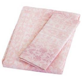 ボーマ BOMA ペーズリー柄カバーセット (ピンク) シングル