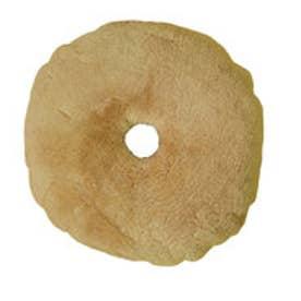 ボーマ BOMA ムートンドーナツクッション 円座 直径38cm (ブラウン)