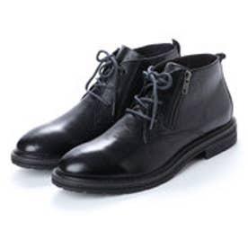 ブソラ bussola フィールドカジュアルブーツ (ブラック)