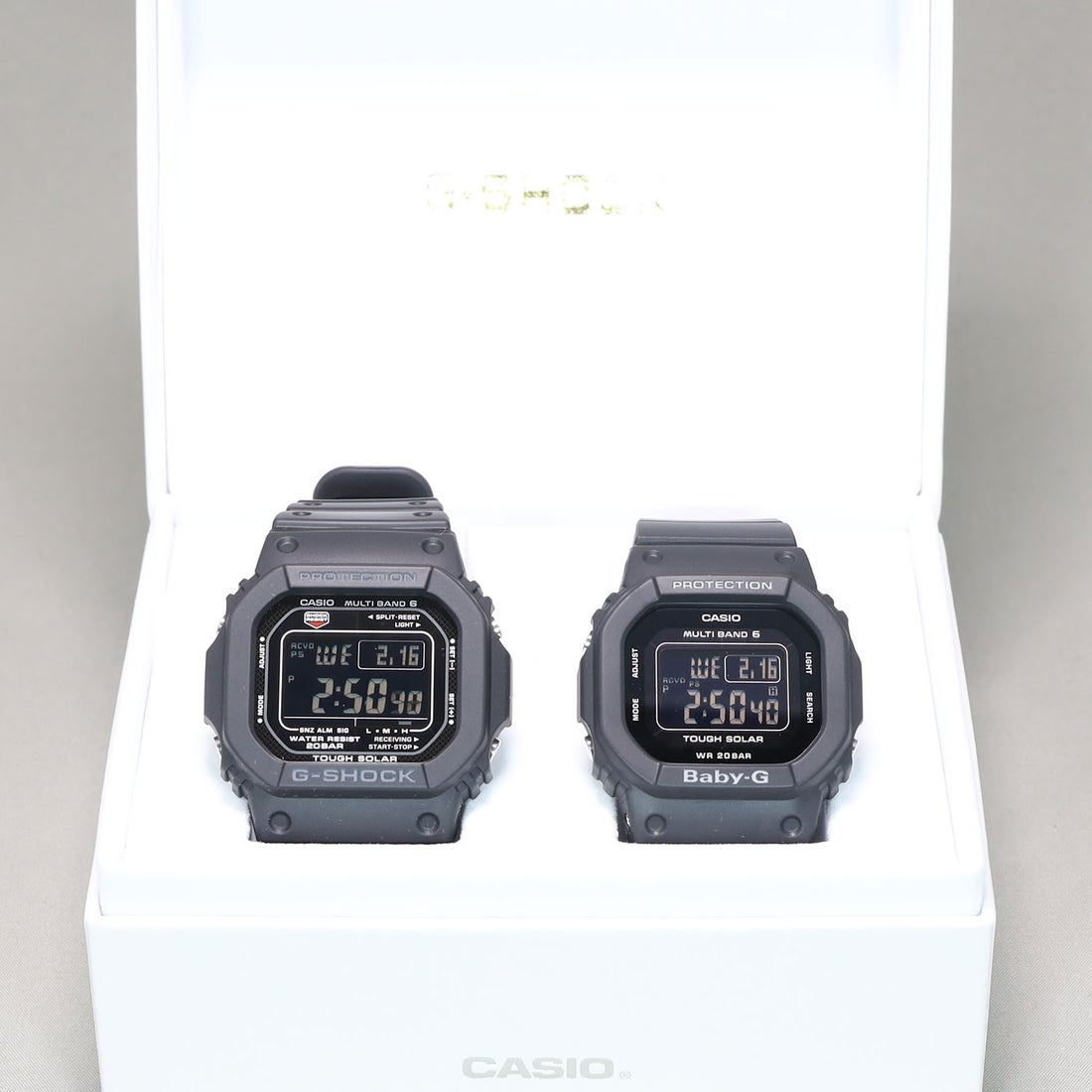 7f10a2632b 【G-SHOCK&BABY-G】Pair Model / 電波ソーラー GW-M5610-1BJF × BGD-5000MD-1JF (ブラック)  -靴&ファッション通販 ロコンド〜自宅で試着、気軽に返品
