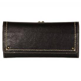 アノン ANON 外ガマ長財布 (ブラック)