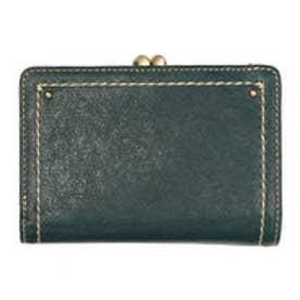 アノン ANON 外ガマ2つ折り財布 (ターコイズ)