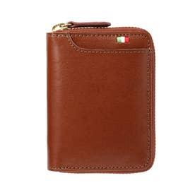 ミラグロ Milagro ボックスコインケース横型 (ブラウン)