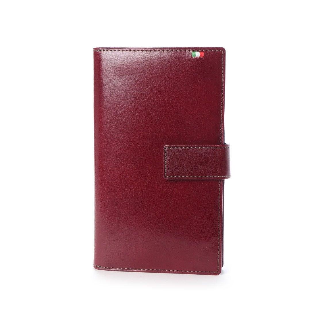 ミラグロ Milagro 30枚カード収納長財布 (バーガンディー)