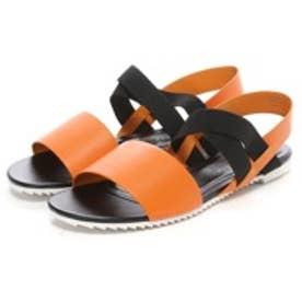 チャールズ & キース CHARLES & KEITH Sandals(Orange)