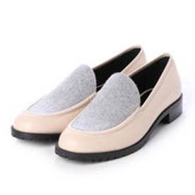 チャールズ & キース CHARLES & KEITH Covered Loafer (Pink)
