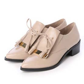 チャールズ & キース CHARLES & KEITH Covered Loafer (Nude)