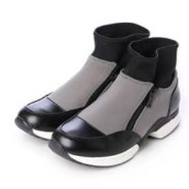 チャールズ & キース CHARLES & KEITH Covered Sneakers (Grey)