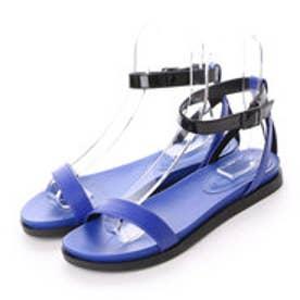 チャールズ & キース CHARLES & KEITH Derby Ankle Strap (Blue)