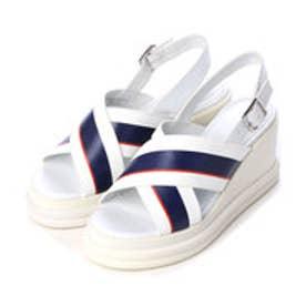 チャールズ & キース CHARLES & KEITH Platform Open Toe Sandals (Multi)
