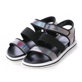 チャールズ & キース CHARLES & KEITH Open Toe Sandals (Black)