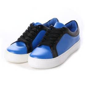 チャールズ&キース CHARLES & KEITH Sneakers (Blue)