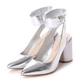 チャールズ & キース CHARLES & KEITH Ankle Strap (Silver)