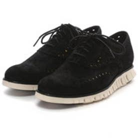 コール ハーン COLE HAAN ZEROGRAND WING OX (BLACK SUEDE)