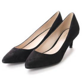 コール ハーン COLE HAAN JULIANA PUMP 45 (BLACK SUEDE)