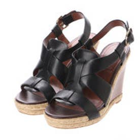 コール ハーン COLE HAAN BREECEY WEDGE (BLCK LTHR/JUTE)